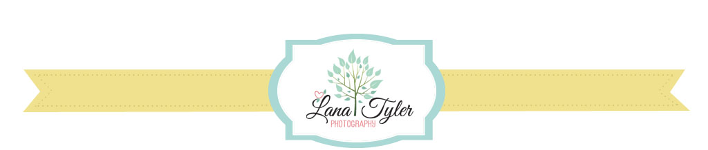 Lana Tyler Photography. Celebrating love.  Giving you an experience. logo